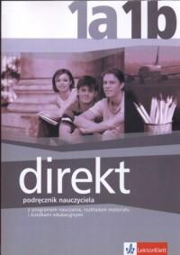 Direkt 1A, 1B. Podręcznik dla nauczyciela - okładka książki