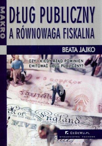 Dług publiczny a równowaga fiskalna - okładka książki