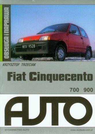 Fiat Cinquecento - okładka książki