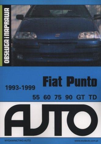 Fiat Punto 55 60 75 90 GT TD - okładka książki
