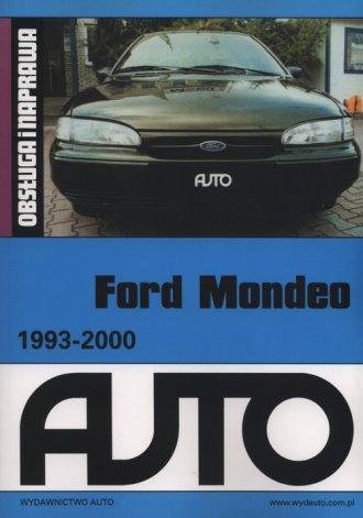 Ford Mondeo 1993-200. Obsługa i - okładka książki