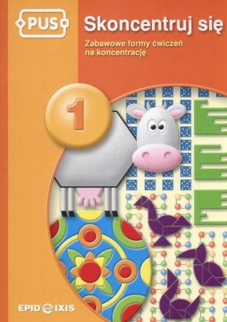 Skoncentruj się 1. Zabawowe formy - okładka podręcznika