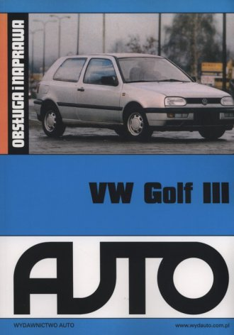 VW Golf III - okładka książki