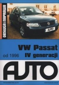 VW Passat od 1996. Obsługa i naprawa - okładka książki