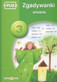 Zgadywanki 3. Wiosna - okładka podręcznika