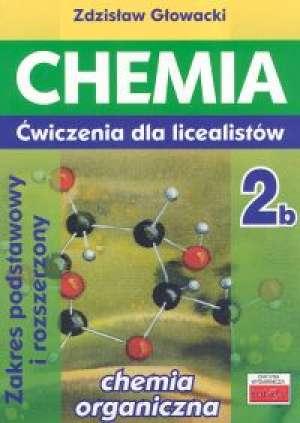 Chemia 2b. Ćwiczenia dla licealistów. - okładka podręcznika