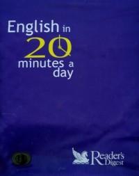 English in 20 minutes a day - okładka podręcznika
