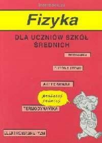 Fizyka dla uczniów szkół średnich - okładka podręcznika