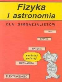 Fizyka i astronomia dla gimnazjalistów - okładka podręcznika