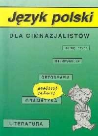 Język polski dla gimnazjalistów - okładka książki