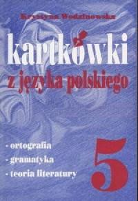 Kartkówki z języka polskiego. Klasa 5. Szkoła podstawowa - okładka podręcznika