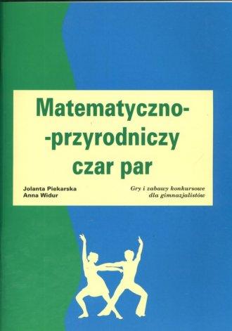 Matematyczno-przyrodniczy czar - okładka książki