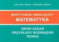 Matematyka. Repetytorium gimnazjalisty - okładka książki