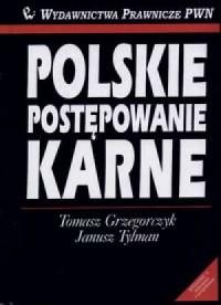 Polskie postępowanie karne - okładka książki