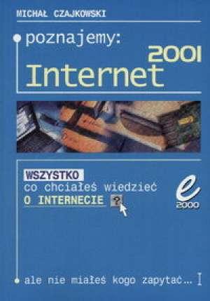 Poznajemy Internet 2001 - okładka książki