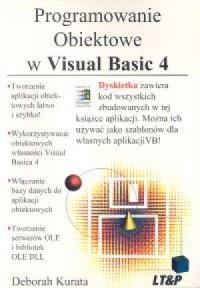 Programowanie obiektowe w Visual Basic 4 - okładka książki