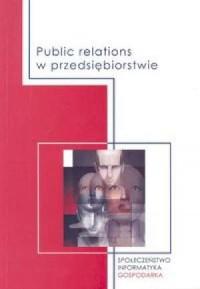 Public relations w przedsiębiorstwie - okładka książki