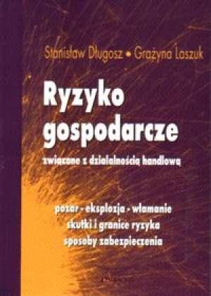 Ryzyko gospodarcze związane z działalnością - okładka książki