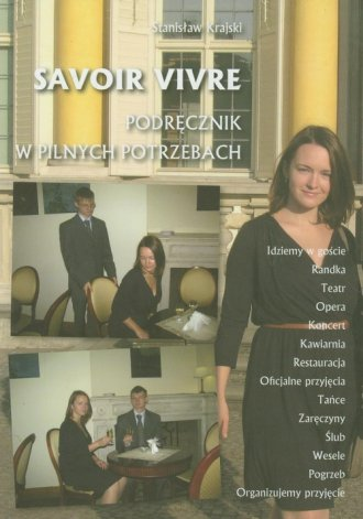 Savoir vivre. Podręcznik w pilnych - okładka książki