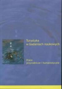 Turystyka w badaniach naukowych - okładka książki