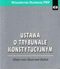 Ustawa o Trybunale Konstytucyjnym - okładka książki