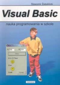 Visual Basic. Nauka programowania w szkole - okładka książki