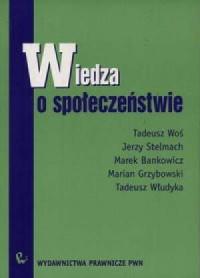 Wiedza o społeczeństwie - okładka książki