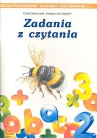 Zadania z czytania - okładka podręcznika
