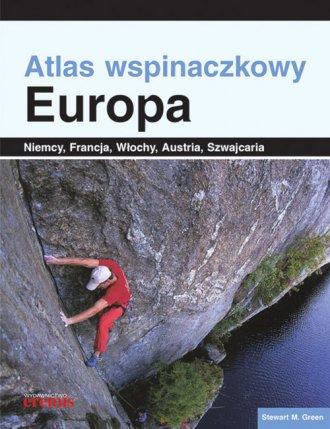 Atlas wspinaczkowy. Europa - okładka książki