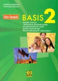 Basis 2. Gimnazjum ćwiczenia do nauki języka niemieckiego - okładka podręcznika