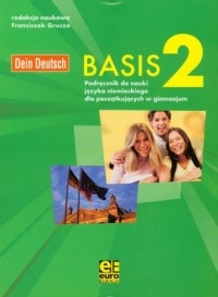Basis 2. Gimnazjum. Podręcznik do nauki języka niemieckiego - okładka podręcznika
