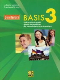 Basis 3. Gimnazjum podręcznik do nauki języka niemieckiego - okładka podręcznika