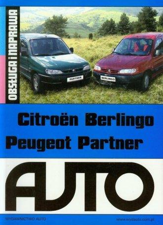 Citroen Berlingo Peugeot Partner. - okładka książki