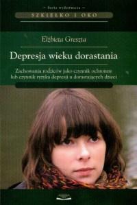 Depresja wieku dorastania - okładka książki
