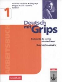 Deutsch mit Grips 1. Arbeitsbuch - okładka podręcznika