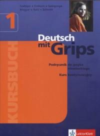 Deutsch mit Grips 1. Kursbuch - okładka podręcznika