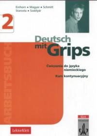 Deutsch mit Grips 2. Arbeitsbuch - okładka podręcznika