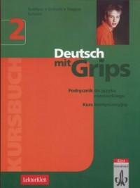 Deutsch mit Grips 2. Kursbuch - okładka podręcznika