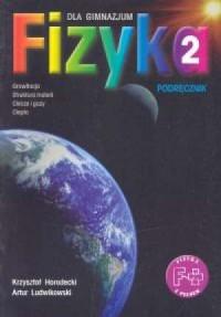 Fizyka z plusem. Klasa 2. Gimnazjum. Podręcznik - okładka książki