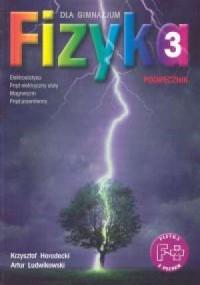 Fizyka z plusem. Klasa 3. Gimnazjum. Podręcznik. Elektrostatyka, prąd elektryczny stały, magnetyzm, prąd przemienny - okładka podręcznika