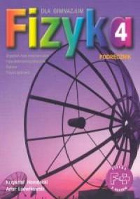 Fizyka z plusem. Klasa 4. Gimnazjum. Podręcznik - okładka podręcznika