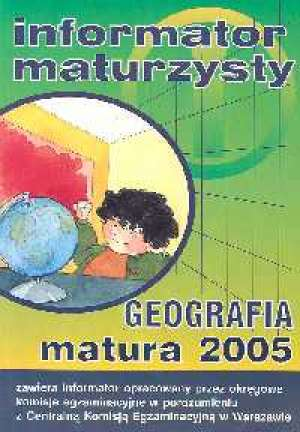 Geografia. Matura - okładka podręcznika