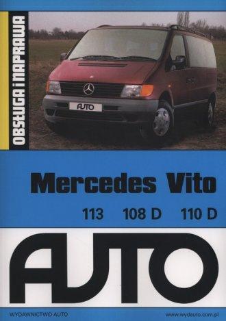 Mercedes Vito. Obsługa i naprawa - okładka książki