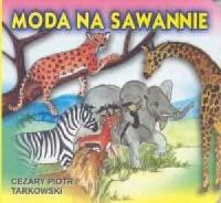 Moda na sawannie - okładka książki