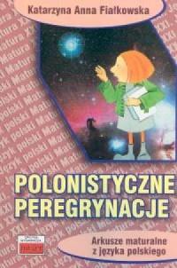 Polonistyczne peregrynacje. Arkusze - okładka podręcznika