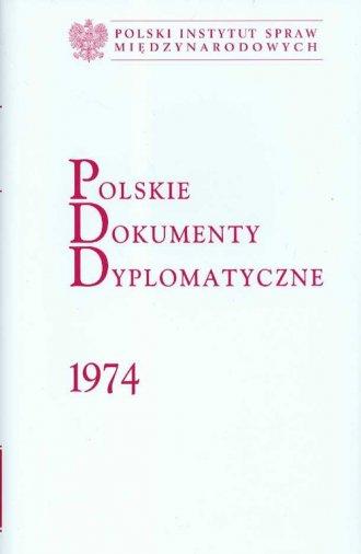 Polskie Dokumenty Dyplomatyczne - okładka książki