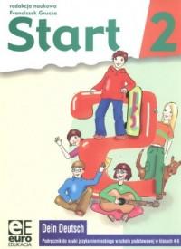Start 2. Język niemiecki. Klasa 4-5. Szkoła podstawowa. Podręcznik - okładka podręcznika