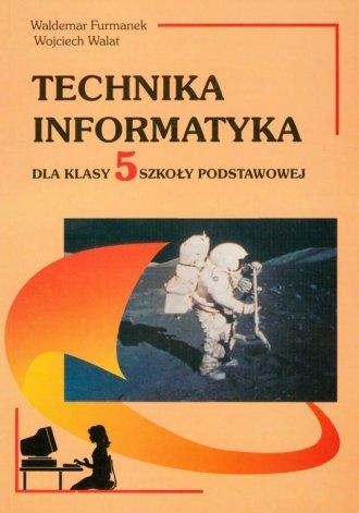 Technika. Informatyka. Klasa 5. - okładka podręcznika