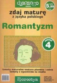 Zdaj maturę z języka polskiego - okładka podręcznika