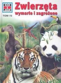 Zwierzęta wymarłe i zagrożone - okładka książki